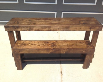 Rustic Wooden Dinning Table