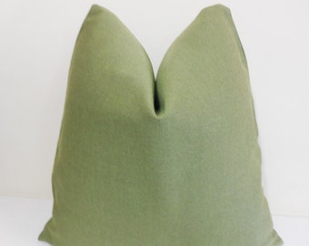 Lime Green Outdoor  Pillow Cover - Sunbrella Pillow-  Outdoor Cushion -  20 x 20