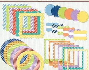SALE Digital Frames & Labels - Spring is Near - Clip Art Clipart  Instant Download Printable - G7043