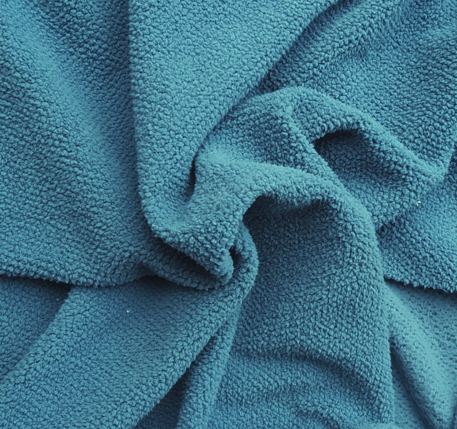 turquoise sherpa knit fleece fabric by the yard minky feels. Black Bedroom Furniture Sets. Home Design Ideas