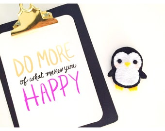 Cute Penguin Key Chain