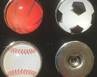 Sporty Snap Charms