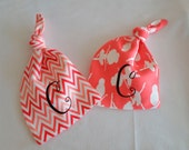 Baby Shower Gift, Personalized Baby Hats -set of 2-, Personalised Baby Gift, Monogrammed Baby, Baby Beanie-