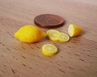 Lemons 1:12 dollhouse miniature