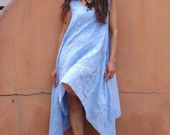 Dress   ...Summer Dress  ....Color Pale Blue