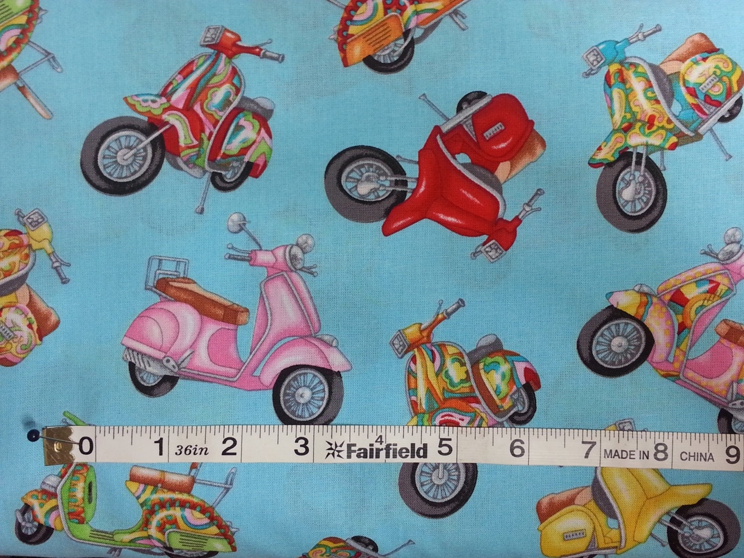 100% cotton Quilting fabric by the 1/2 yard motorcycle motorbike ... : motorcycle quilting fabric - Adamdwight.com