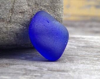 Cobalt Blue Glass, Sea Beach Glass, Genuine
