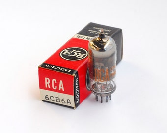 set of 4 RCA 6CB6A vacuum tubes
