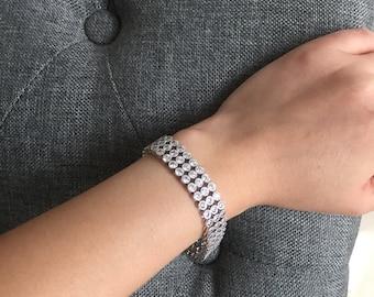 Magnificent Bridal Bracelet