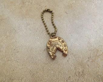 Horse Shoe Key Chain