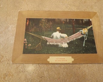 Antique Romantic Postcard Valentines Day