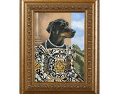 Dog Magnet, Lady Sheena, Rottweiler, Rottie, Refrigerator Magnet