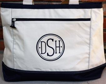 Personalized Tote Bag, Monogrammed Bag