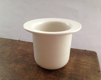 Vintage Swedish jar by Hogānas Stengods Keramik Apoteket jar White ceramic jar
