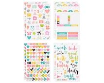 Carpe Diem Planner Stickers - Icons - 8 Sheets - Simple Stories - 506757