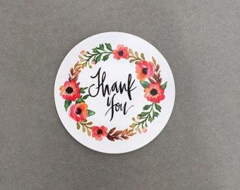 Thank You Sticker - Thanks Sticker - Stickers