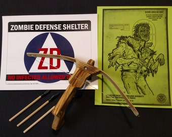 Walking Dead Mini Crossbow Kit
