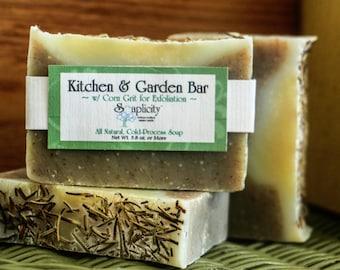 Kitchen & Garden Soap, All-Natural