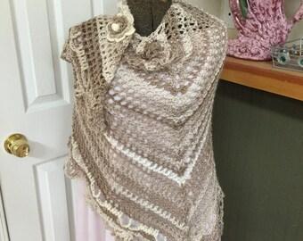 Crochet Versatile Shawl
