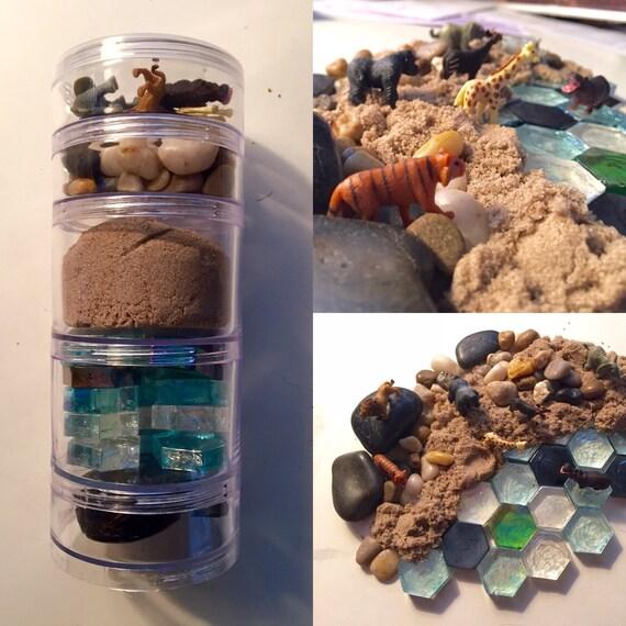 Utopia Miniatures: Kinetic Sand Safari Set