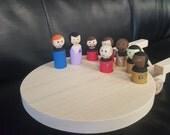Star Trek, Star Trek New Generation,Enterprise, Spaceship, Kids Toy, Star Trek Beyond,Toy, Star Trek Collectors, Wooden Toy, Kids Toy