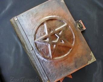 Big Grimoire with a Pentagram