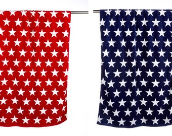 Personalized Star Beach Towel-4th of July