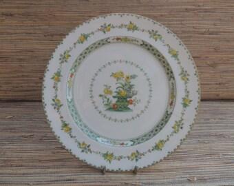 Vintage Royal Doulton Hamilton Pattern Salad Plate