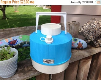 25% off sale Vintage Thermos Water Jug Camping Gear 1 Gallon Water Jug Drink Jug