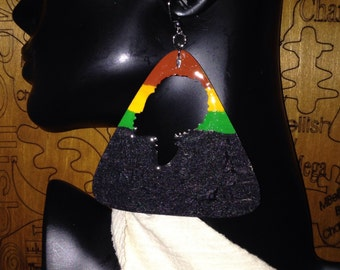 Pyramid She Earrings