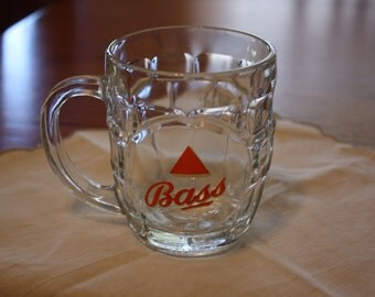 Vintage Bass Ale Beer Mug, made in England