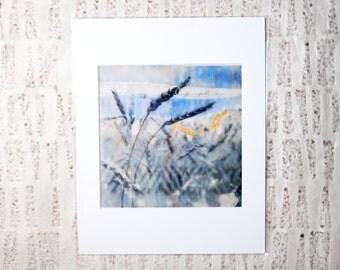 Urban Farm, Boho Chic, Southern Decor: Wheat Field Art Print
