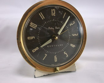 Alarm Clock Working Baby Ben  Westclox In Excellently Great Condition.epsteam