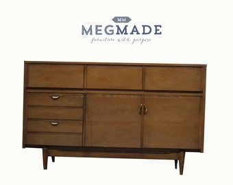 1322-02212 Customizable Mid Century Modern Mainline Buffet by MegMade