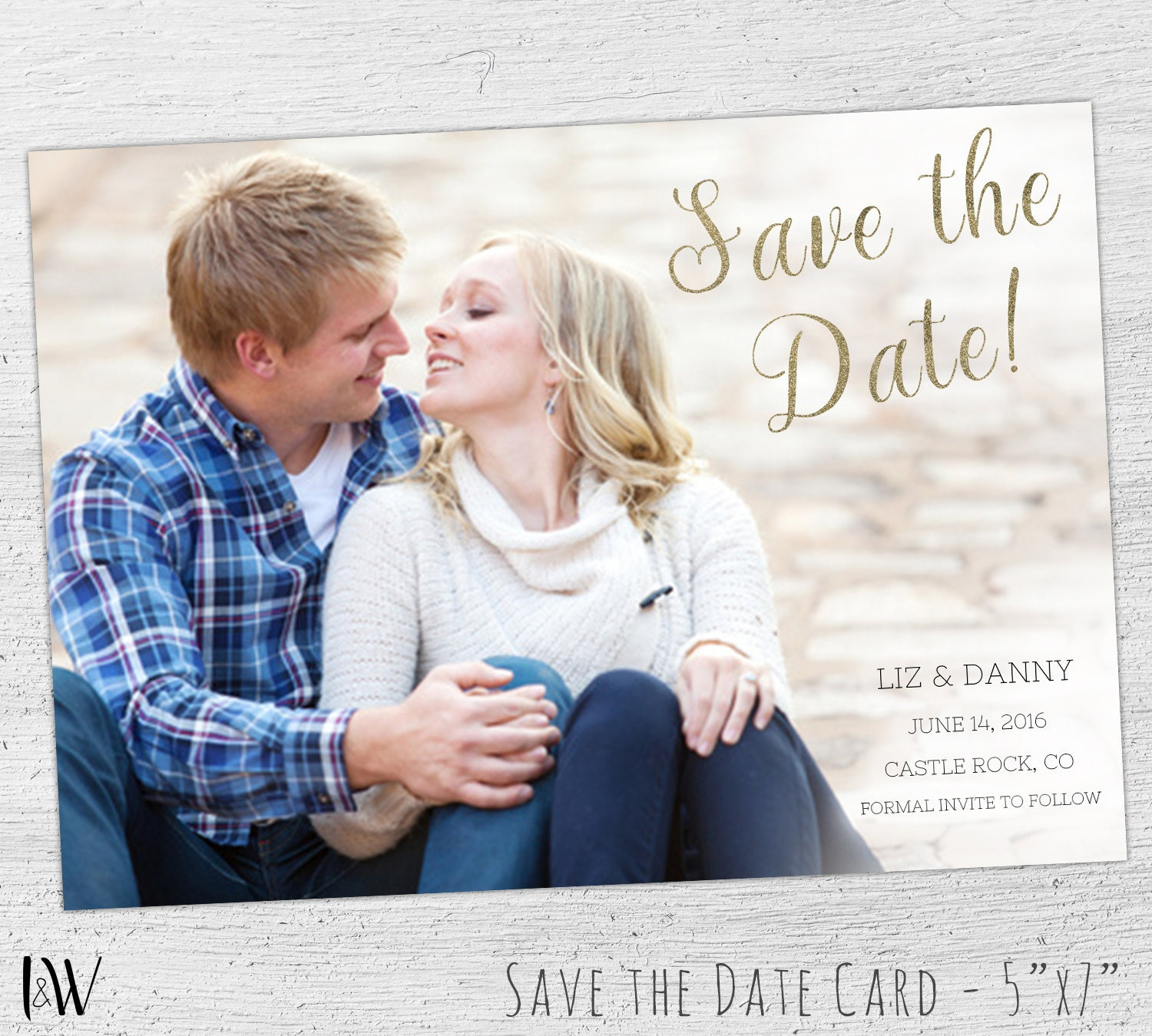 save the date template photo save the date photshop. Black Bedroom Furniture Sets. Home Design Ideas