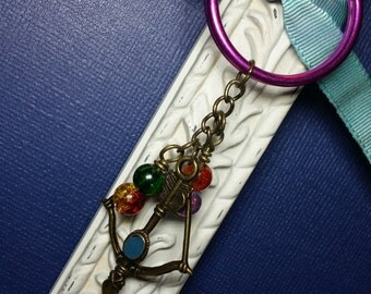 Arrow Keychain, Brave Inspired, Hunger Games Inspired, Archery Keychain