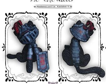 Medieval Knight cat