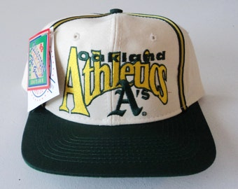 Vintage Oakland A's The Game Deadstock Snapback Hat MLB VTG