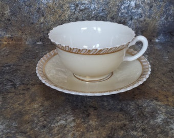 Lenox China Cup and Saucer