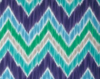 Tribal Find Sky Indoor / Outdoor - One Yard - P Kaufmann Fabric
