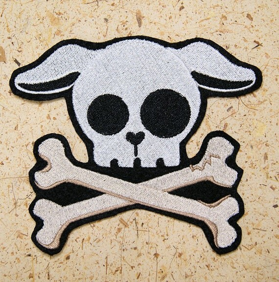Dog Puppy Skull Crossb...