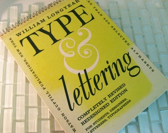 Type & Lettering Typography William Longyear Spiral 1965