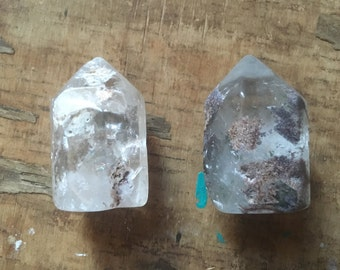 Raw Quartz Crystal - Healing Crystals - Quartz Crystal Point - Healing Stones - Mineral Specimen - Dreamstone