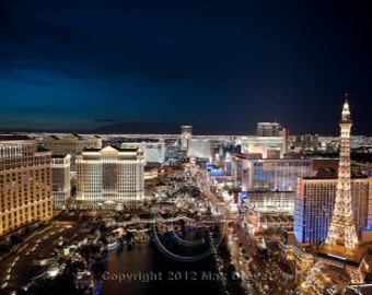 Las Vegas Strip Art Print, Las Vegas Print, Vegas Photo, Vegas Photography, 8 x 10, Las Vegas Art, Las VegasDecor