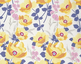 Atrium Monarch in Slate by Joel Dewberry for Free Spirit Fabrics- Half Yard or By the Yard