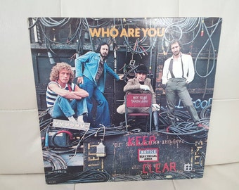 """The Who - """"Who Are You"""" vinyl record"""
