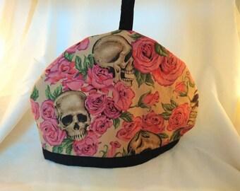 Skull Rose Tea Cosy