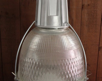Industrial Holophane Pendant Lighting