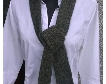 10% off.Very soft little Scarf,gift idea,pure Lambswool mix with Cashmere wool