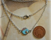 Super dainty Disney's Up inspired necklace - Hand sculpted clay necklace